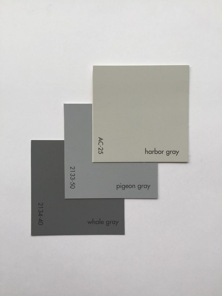 Benjamin moore harbor gray ac 25 pigeon gray 2133 50 for Neutral color paint schemes
