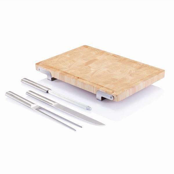 Μαχαίρια σεφ, ξύλο Κοπής με Τρία Εργαλεία Κουζίνας (Σετ) Blok - XD Design