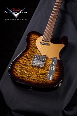 Fender Custom Shop Telecaster (Quilted Top/No Position Inlays)