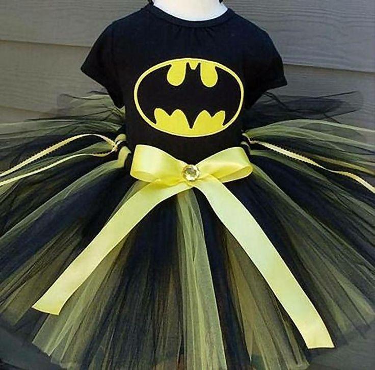 Batman tutu. How cute is this?