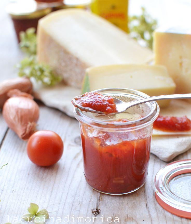 CONFETTURA DI POMODORI E MELE IN AGRODOLCE – Giornata Nazionale del Pomodoro | La Cucina di Monica