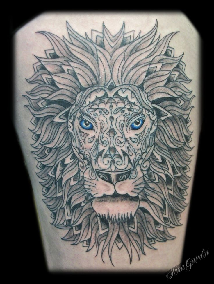 139 best images about lion head art on for Tattoo shops in nampa