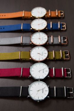 Parsonni Watches for Men and WomenSo many different ways to wear the Parsonii watch. Mix and match to your mood and outfit. Faces and band colors are interchangeable! Check them out here.