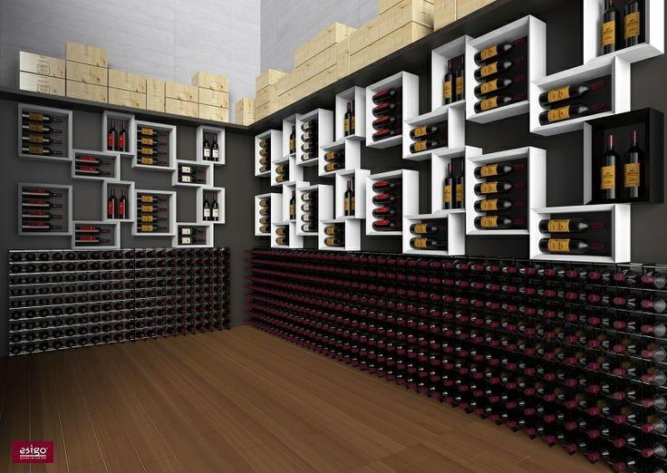 42 best images about arredamento esigo per cantine esigo for Arredamento cantina vino