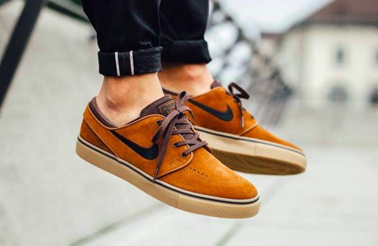 The Nike SB Zoom Stefan Janoski Hazelnut Is Perfect For Fall
