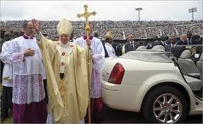 Official pope-mobile