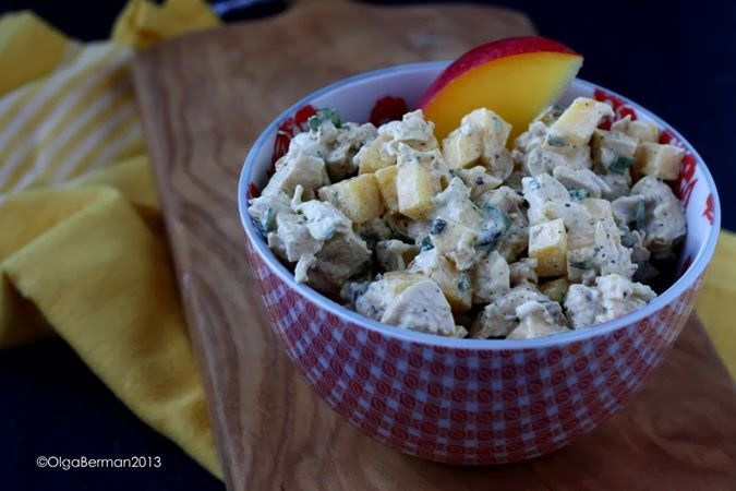 Curried Chicken Salad with Mango & Pumpkin Seeds | Le Cuisine ...