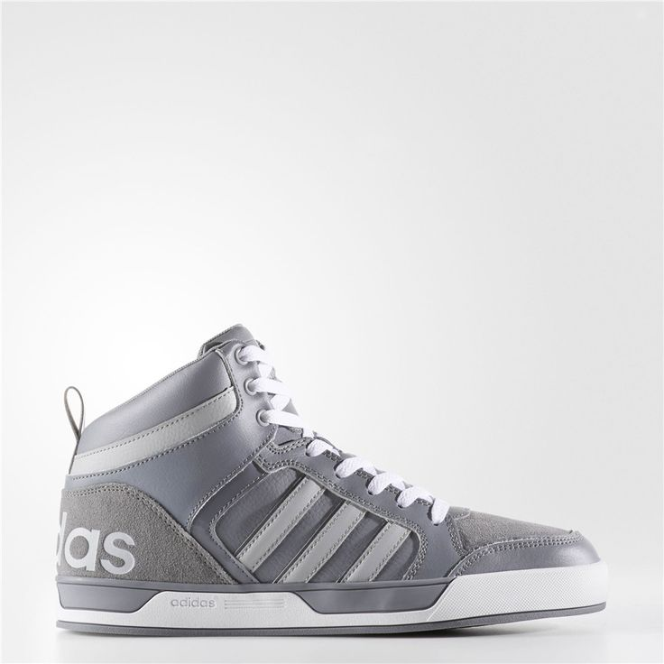 Adidas Raleigh 9tis Mid Shoes (Grey / Light Onix / Grey)