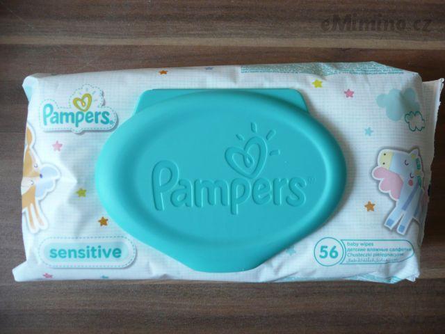 Prodám jednorázové vlhčené ubrousky Pampers 56 ks Pampers - bazar, prodej…