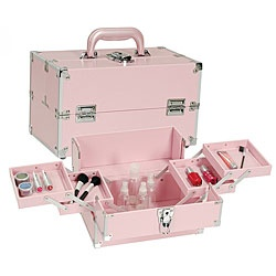 @Overstock - Keep your beauty supplies safe and handy in this pink makeup train case Cosmetic case features four extendable trays Makeup box is lightweight yet sturdyhttp://www.overstock.com/Health-Beauty/Seya-Pink-Makeup-Train-Case/2906310/product.html?CID=214117 $35.09