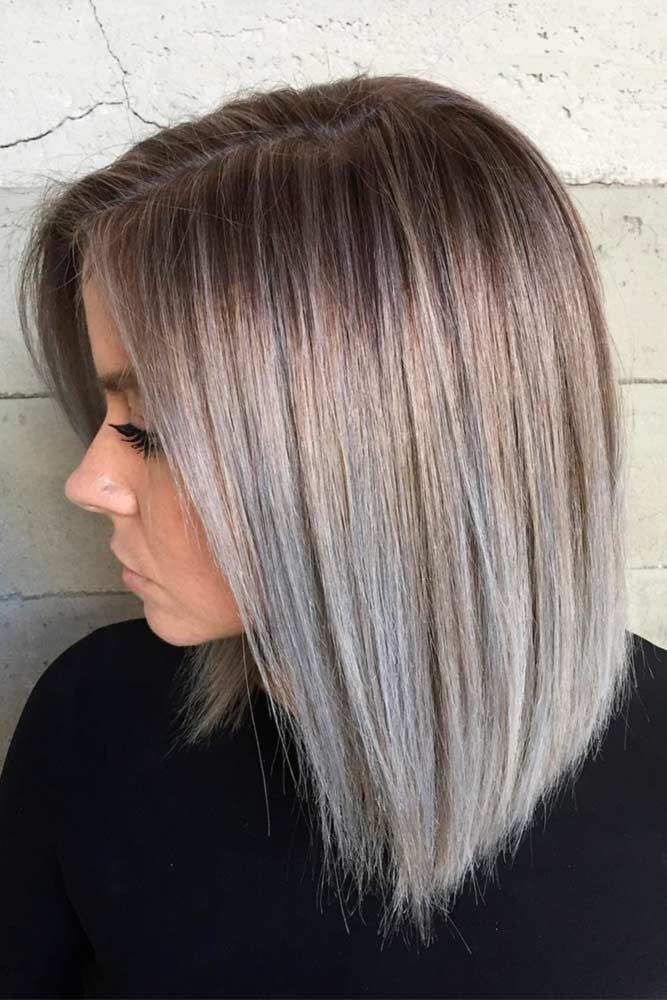 Medium Bob Hairstyles Captivating 24 Best Greige Ash Brown Hair Images On Pinterest  Hair Ideas Make