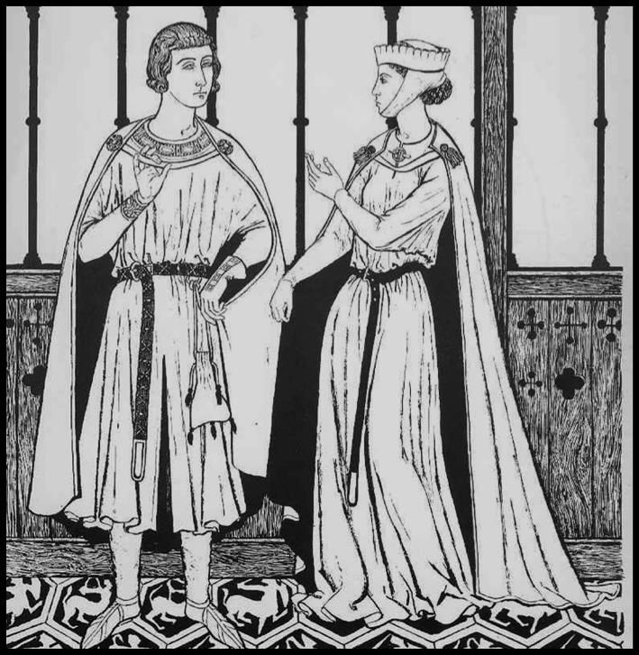 Early middle ages illustration