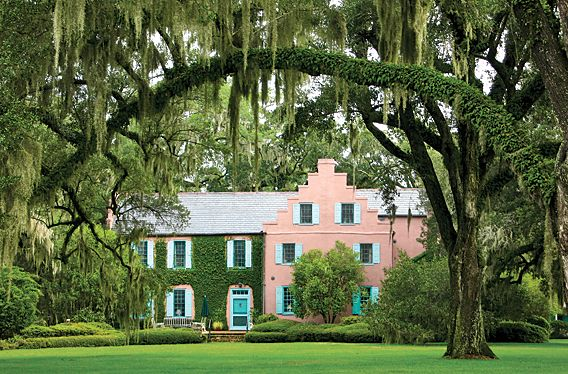 The Medway Plantation In South Carolina Built 1686