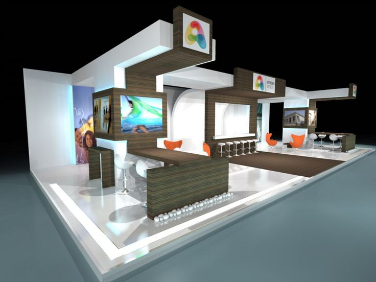 Exhibition Stand 3D view