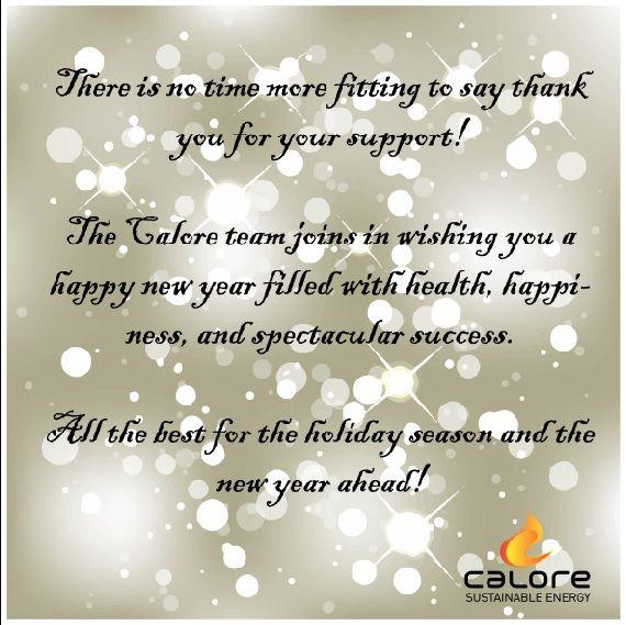 Season Greetings from the Calore Team!!  www.calore.co.za