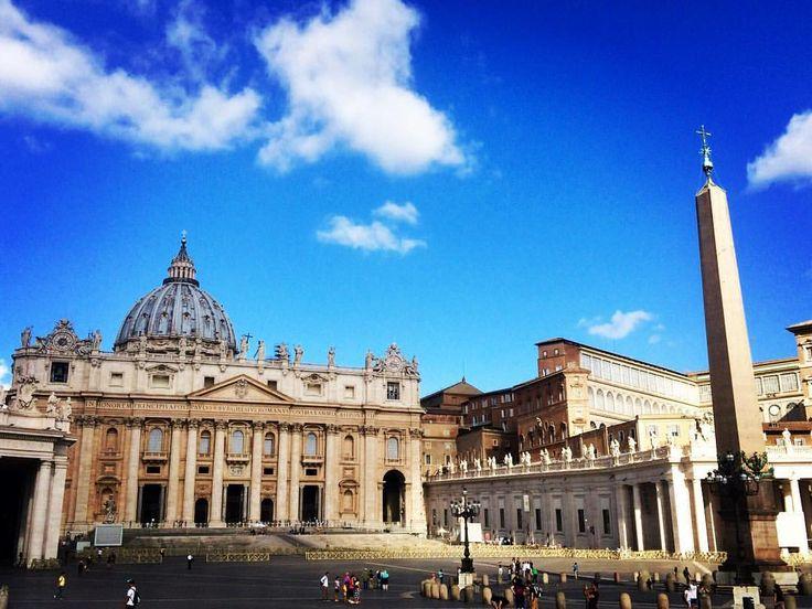 Plaza de San Pedro en el Vaticano - Italia: Juan Carlos Gómez (@jcgomvar) en Instagram.