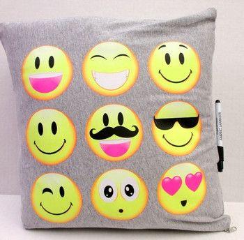 Emoji Autograph Pillow