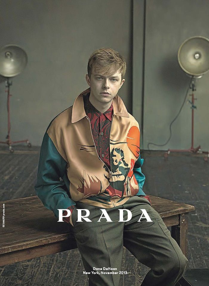 Without meaning to throw any palm tree shade (no Prada pun intended), I've grown to like this campaign, the same however can't be said for model  subject.  Annie Leibovitz delivers a sinister & sullen series of portraits of Hollywood actor & brand favourite Dane DeHaan for the Pr