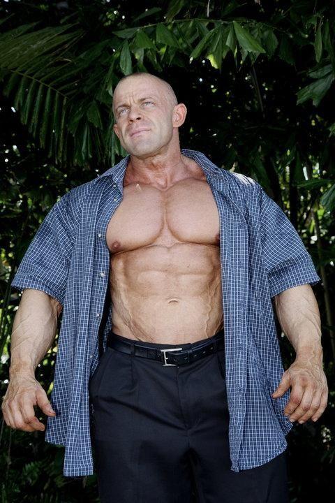 Muscular men, Muscle men, Men