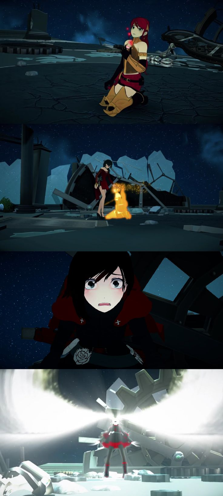 RWBY, the power of the silver eyes
