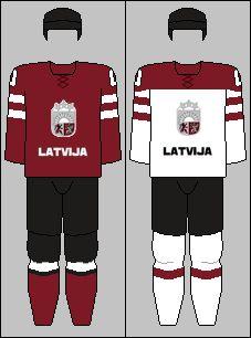 Latvia national hockey team jerseys - 2014 Winter Olympics.png