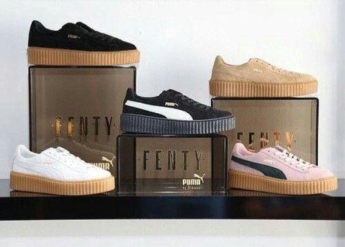 puma creeper rihanna shoes part 2 pinterest. Black Bedroom Furniture Sets. Home Design Ideas