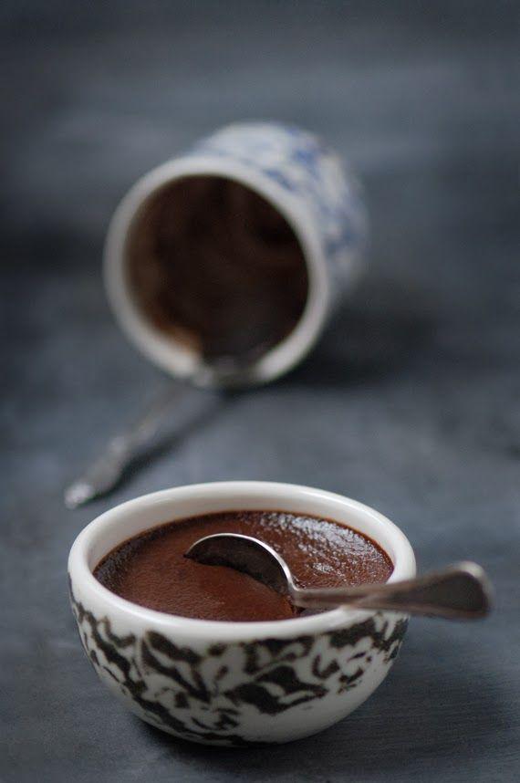 ... petits pots de crème au chocolat et épices chai ...