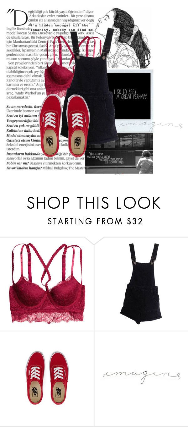 """""""Hidden amongst all this insanity"""" by let-me-slytherin ❤ liked on Polyvore featuring Balmain, H&M, ASOS, Vans and WALL"""