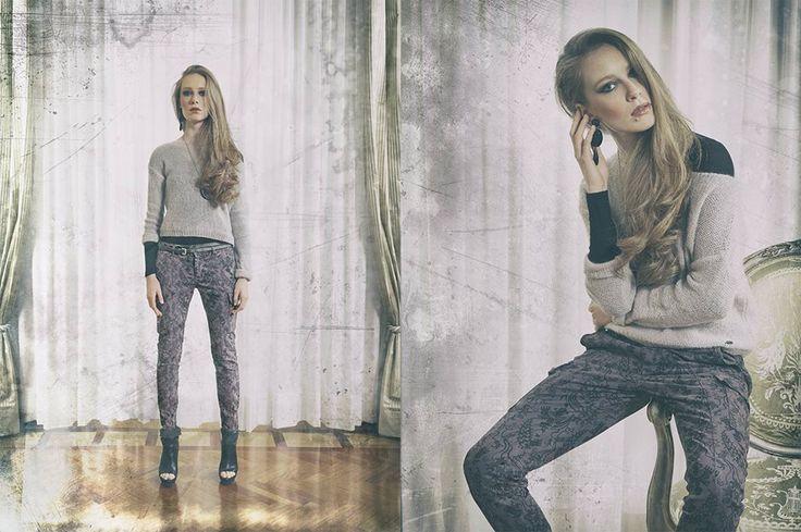 La donna #40weft, elegante e casual allo stesso tempo #fashion #moda  www.40weft.com