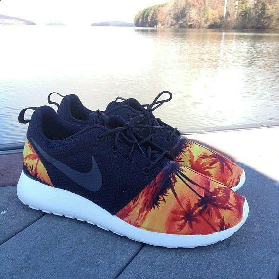 Nike Roshe Run-Palm Trees