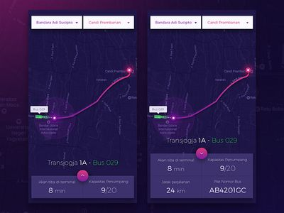 Bus Tracking App - Exploration