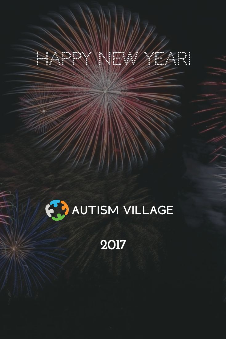 Happy New Year from Autism Village! #happynewyear #autismvillage #autismfriendly #autismawareness #newyear #2017