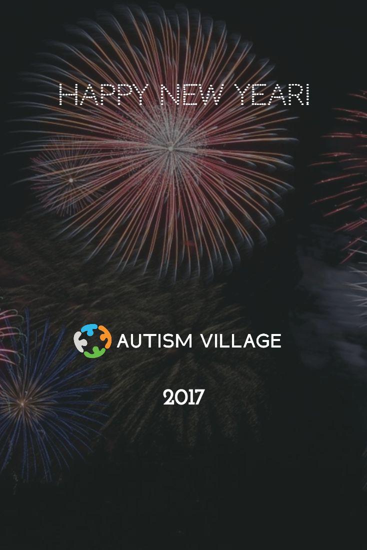 Happy New Year from Autism Village! #happynewyear #autismvillage #autismfriendly #autismawareness #newyear #2017