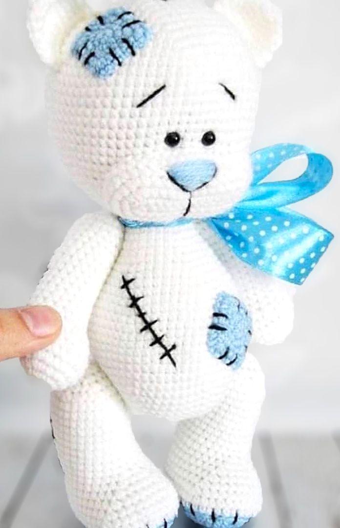 34 Crochet Teddy Bear Patterns | Guide Patterns | 1080x696
