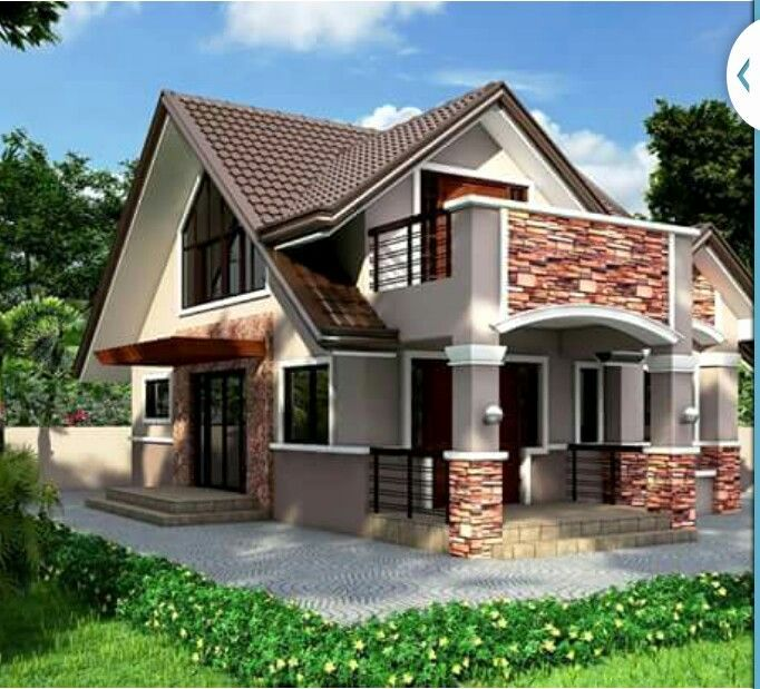 Modern Bungalow Designs Plans Awesome House With Attic In 2020 2020 Bina Cephesi Mini Ev Planlari Ev Plani