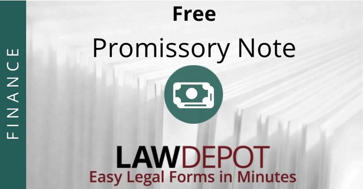 Customize, print, and download your free Promissory Note in minutes.