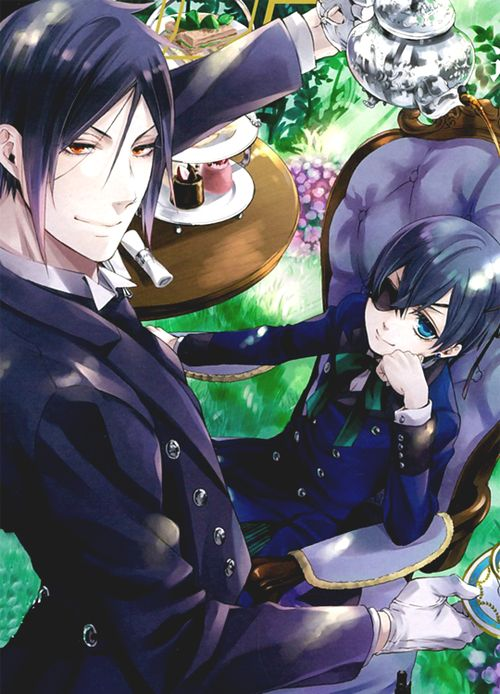 Sebastian Michaelis and Ciel Phantomhive | Black Butler / Kuroshitsuji #anime