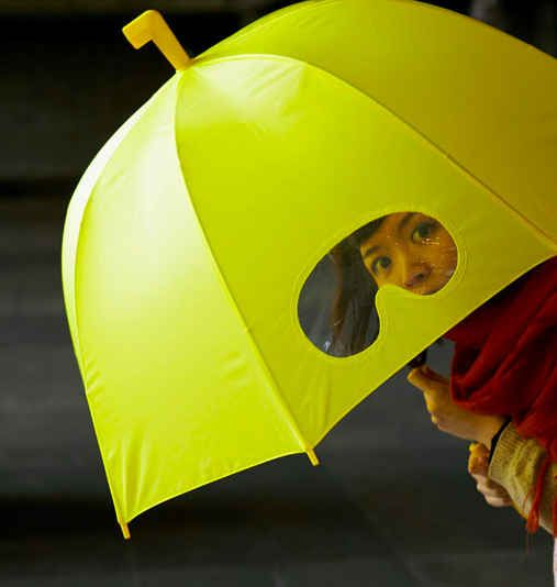 Goggle Umbrella   12 Totally Obvious Inventions You Wish You Thought Of First