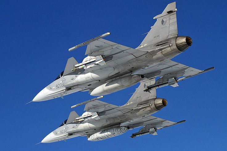 A pair of Czech Air Force's Saab JAS 39 Gripen C/D multi-role combat a/c in flight. Photo: courtesy of Milan Nykodym.Czech Republic Government has approved an agreement for the country's lease of 14 JAS 39 Gripen C/D multi-role combat aircraft.Scheduled to be signed by the Swedish Defence and Security Export Agency (FXM) and the Czech Defence Ministry next month, following internal processes, the agreement will enable the country to continue to fly Gripen, at least until 2026.