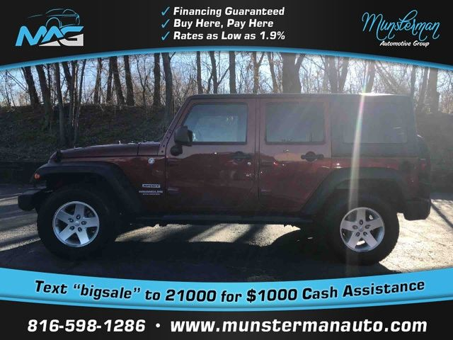 2012 Jeep Wrangler Unlimited  Unlimited Sport SUV 4D