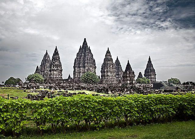 Prambanan Hindu temple - Java, Indonesia