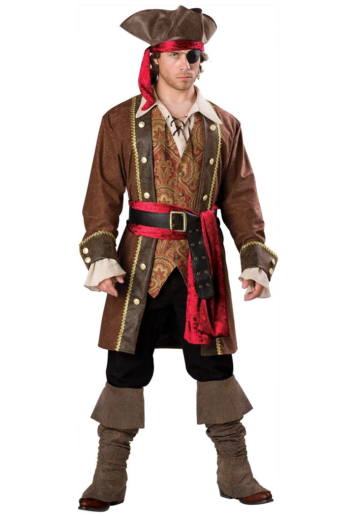 You'll be a pirate of wit and skill when you wear this mens captain skullduggery pirate costume! Description from halloweencostume.com. I searched for this on bing.com/images