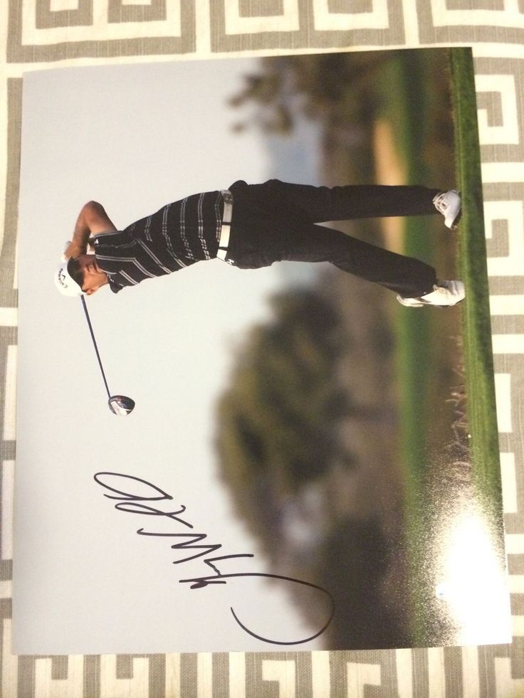 Gary Woodland Signed Pga Tour Golf 8 X 10 Photo Autographed