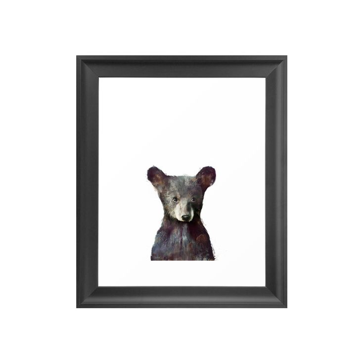 Sure, bears are undoubtedly fierce, but they're also just plain cute! A beautifully painted creature, the cuddle-worthy cub in this Baby Bear Art Print can be admired up close and personal in the comfo...  Find the Baby Bear Art Print, as seen in the Happy Hibernating Collection at http://dotandbo.com/collections/happy-hibernating?utm_source=pinterest&utm_medium=organic&db_sku=116212