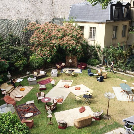 paris // garden party // furniture