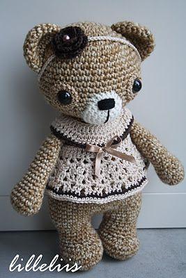 How beautiful is this amigurumi bear!