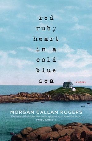 'Red Ruby Heart in a Cold Blue Sea' Set in Maine!