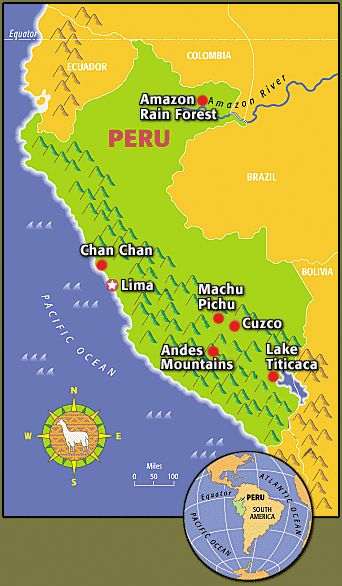 Peru Sightseeing Guide | TIME For Kids