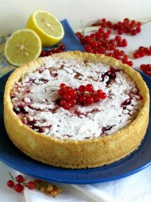 Ягодный пирог с манной крупой