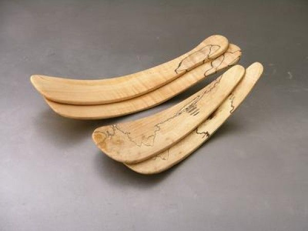 Spencer Peterman Handmade Wooden Salad Tossers